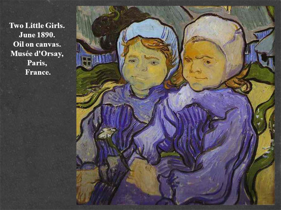 Two Little Girls. June 1890. Oil on canvas. Musée d Orsay, Paris, France.