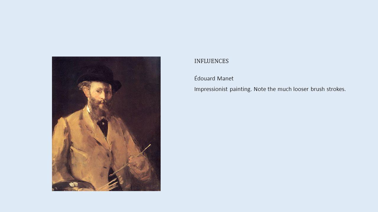 INFLUENCES Vincent van Gogh Post-Impressionist painting.