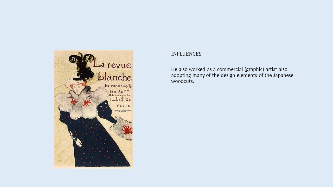 INFLUENCES Alphonse Mucha show poster for actress Leslie Carter.