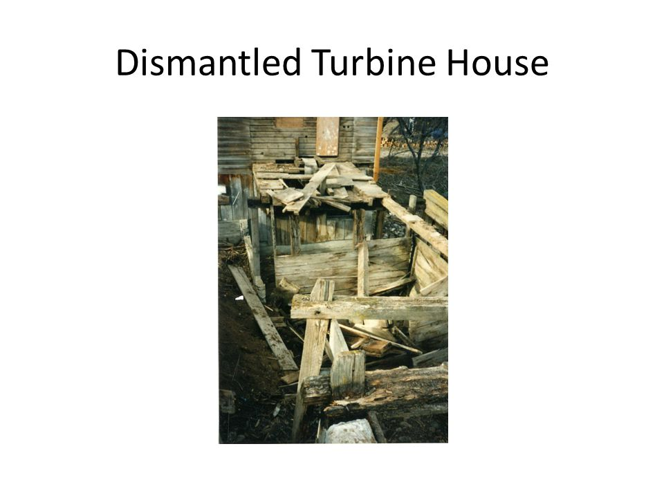 Dismantled Turbine House