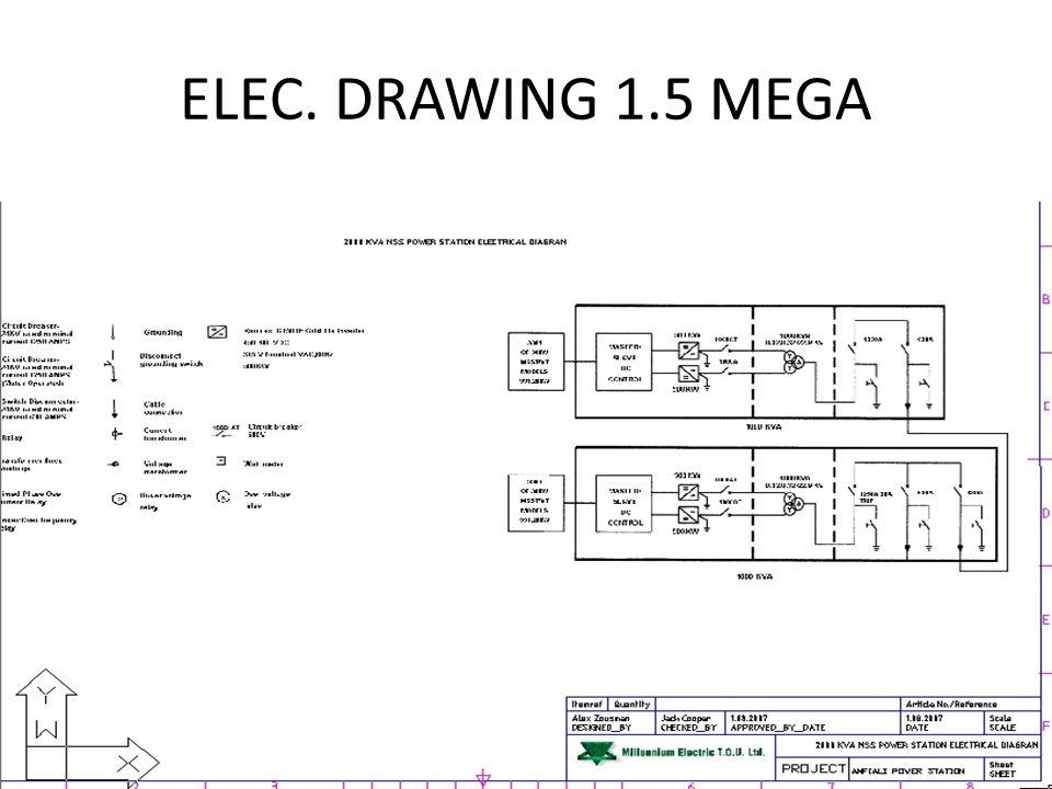 ELEC. DRAWING 1.5 MEGA