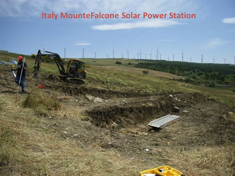 Italy MounteFalcone Solar Power Station