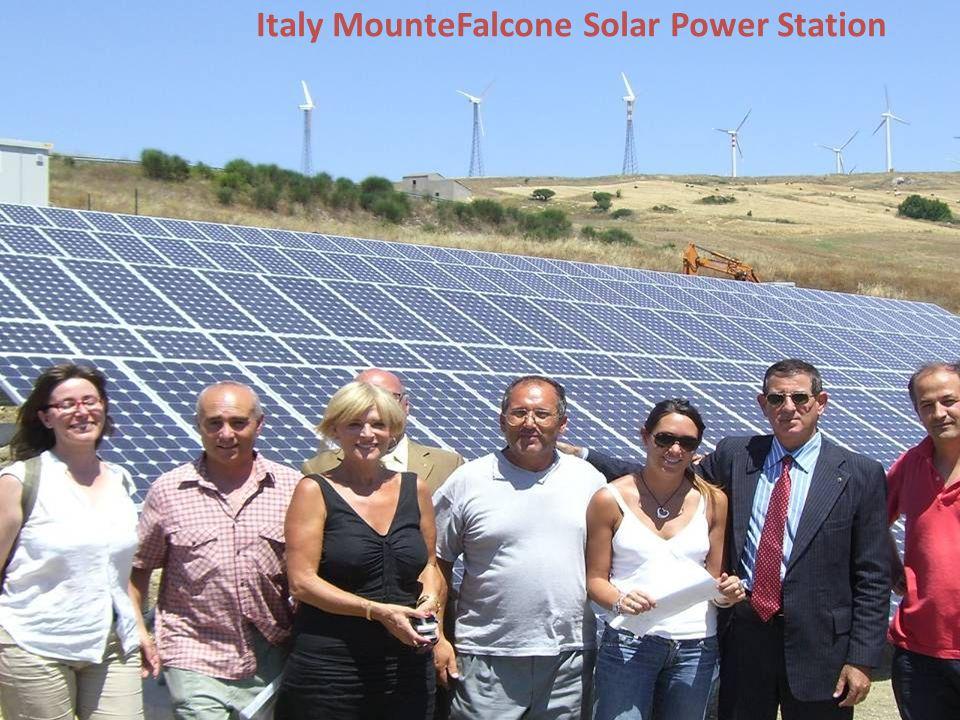 Italy MounteFalcone Solar Power Station