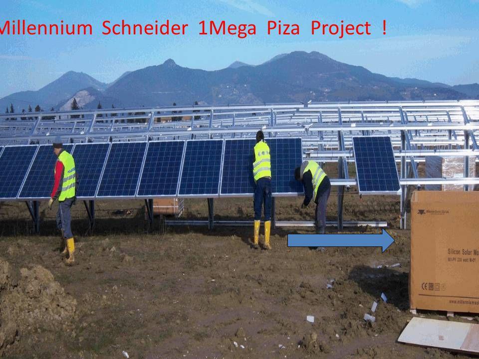 Millennium Schneider 1Mega Piza Project !