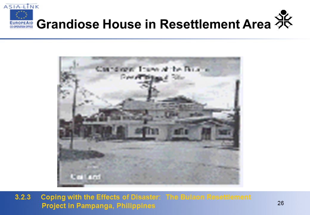 3.2.3 Coping with the Effects of Disaster: The Bulaon Resettlement Project in Pampanga, Philippines 26 Grandiose House in Resettlement Area