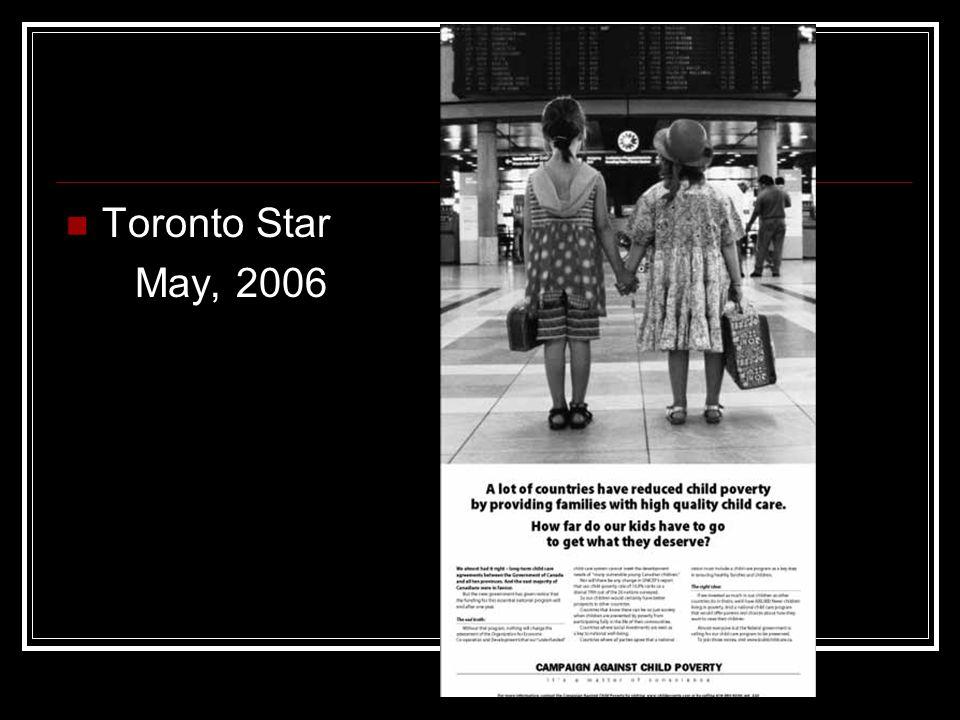 Toronto Star May, 2006