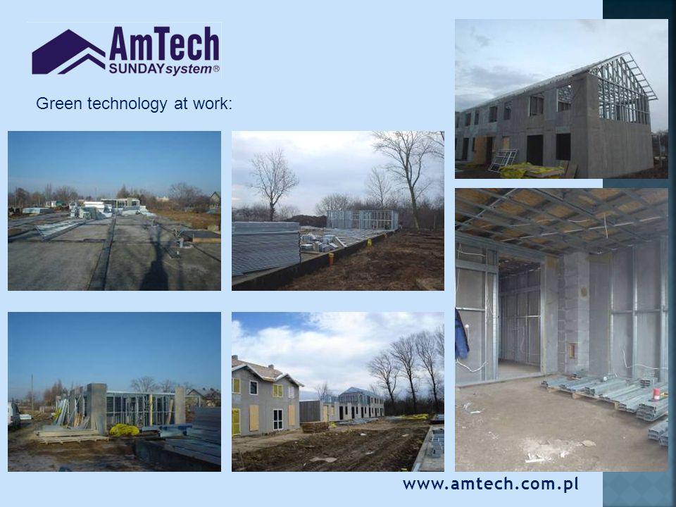 www.amtech.com.pl Green technology at work:
