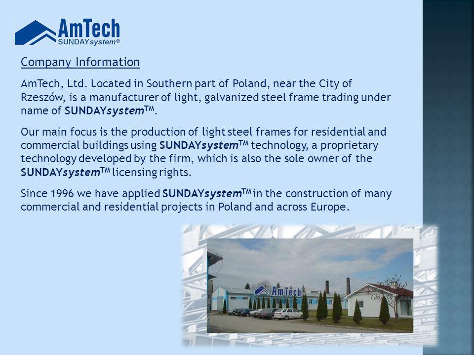 Company Information AmTech, Ltd.