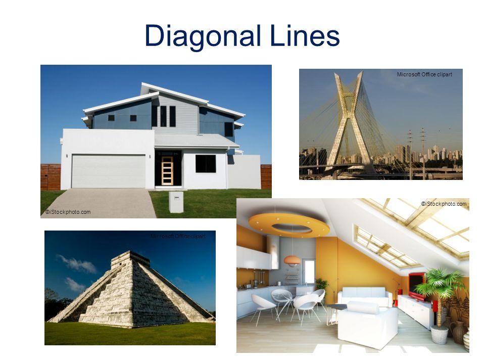 Diagonal Lines Microsoft Office clipart ©iStockphoto.com