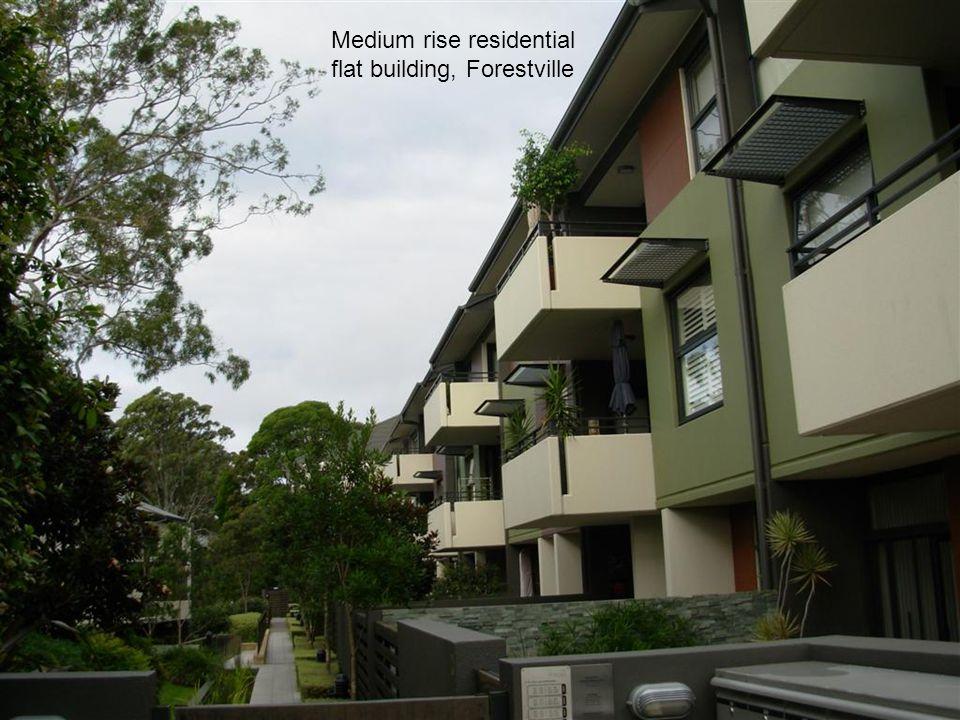 Medium rise residential flat building, Forestville