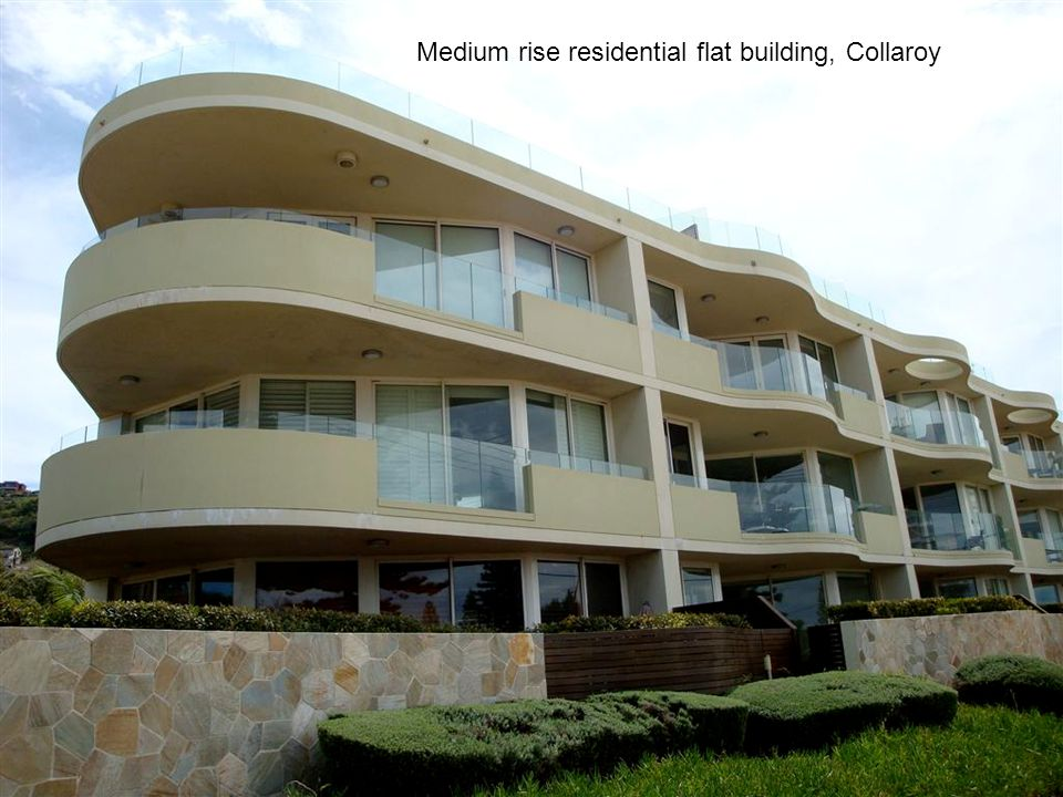 Medium rise residential flat building, Collaroy