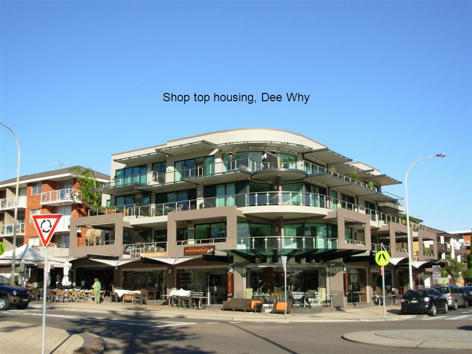 Shop top housing, Dee Why