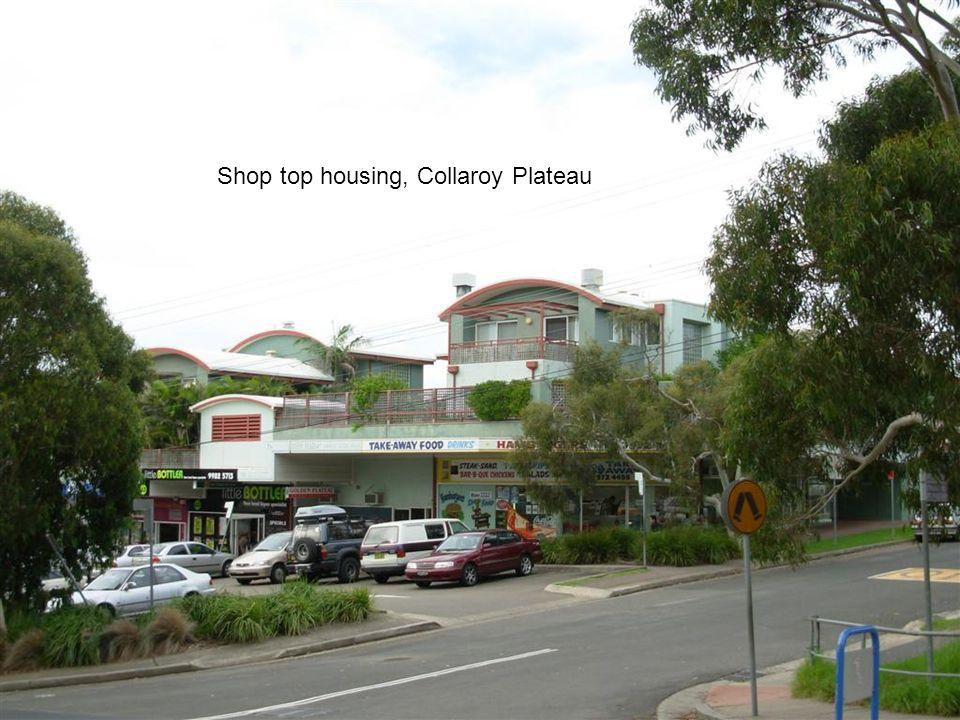 Shop top housing, Collaroy Plateau