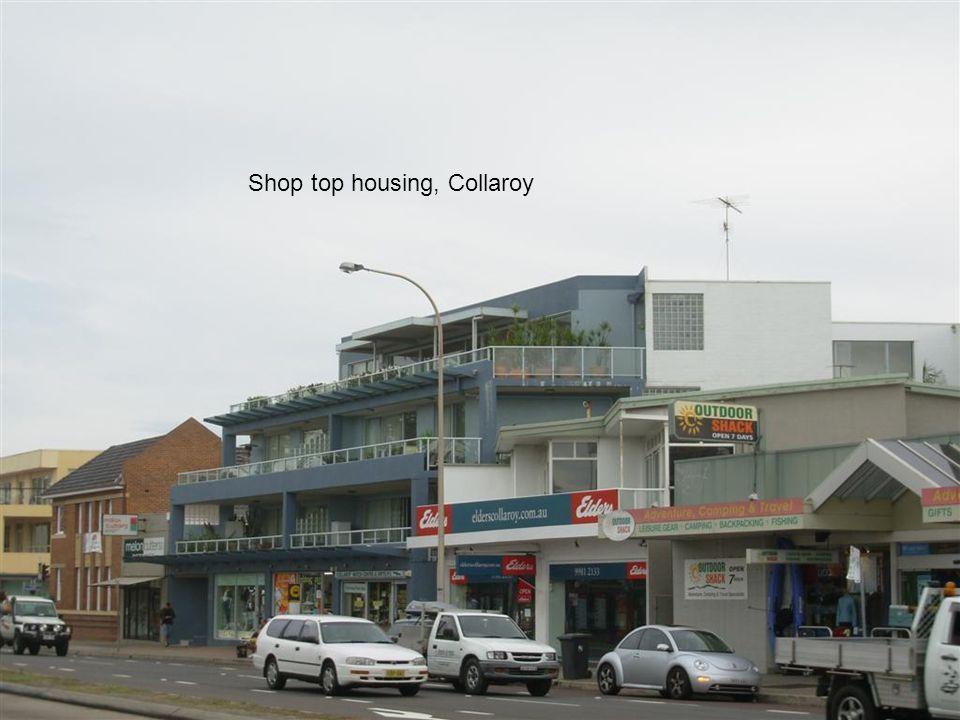 Shop top housing, Collaroy