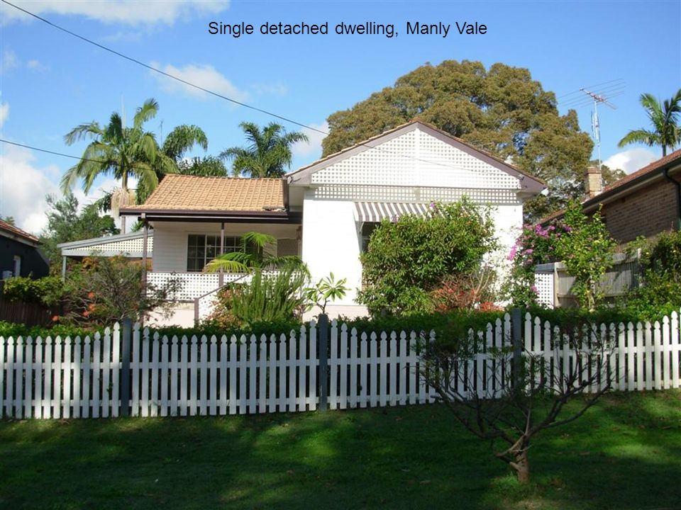 Single detached dwelling, Manly Vale