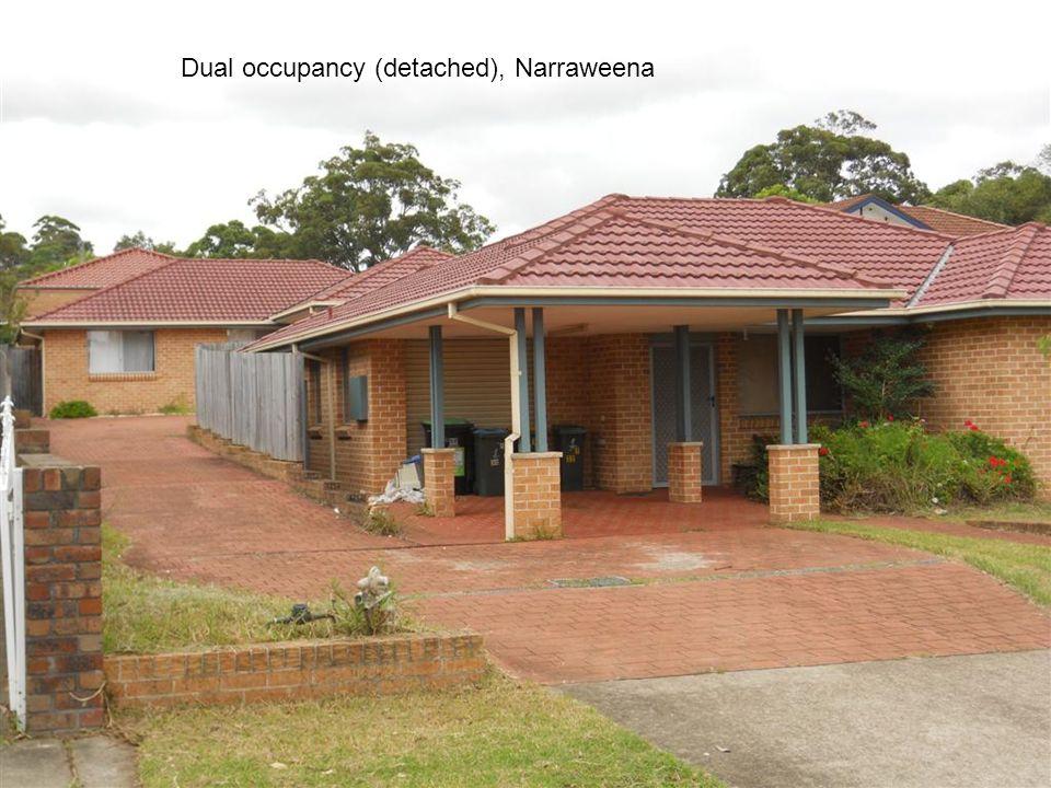 Dual occupancy (detached), Narraweena