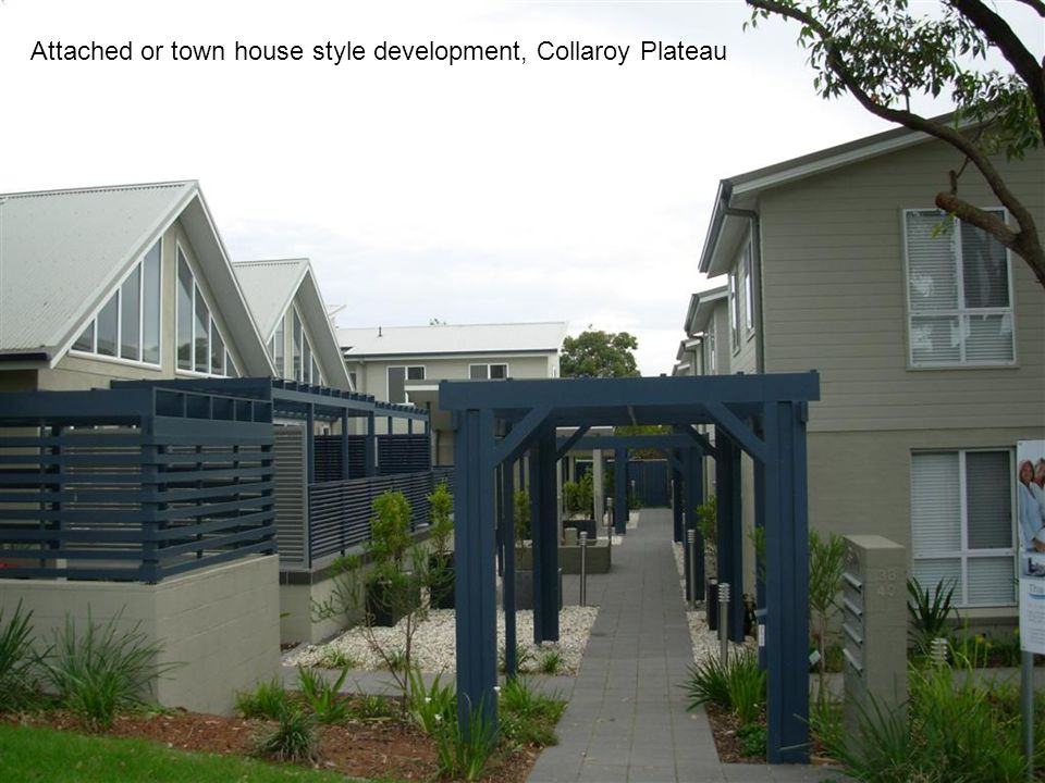 Attached or town house style development, Collaroy Plateau