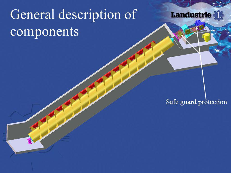 General description of components Safe guard protection