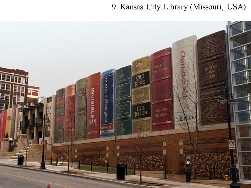 9. Kansas City Library (Missouri, USA)