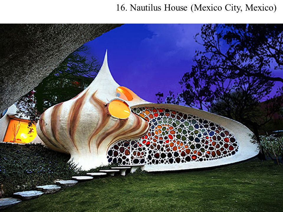 16. Nautilus House (Mexico City, Mexico)