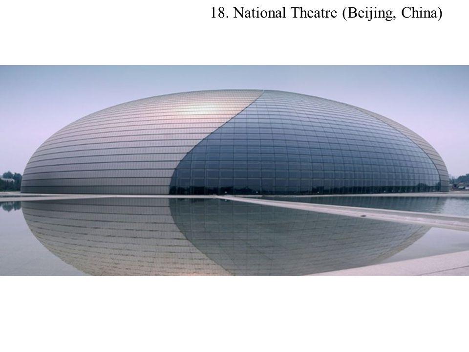18. National Theatre (Beijing, China)