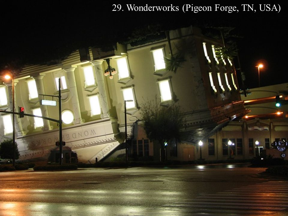 29. Wonderworks (Pigeon Forge, TN, USA)