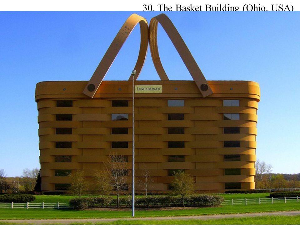 30. The Basket Building (Ohio, USA)