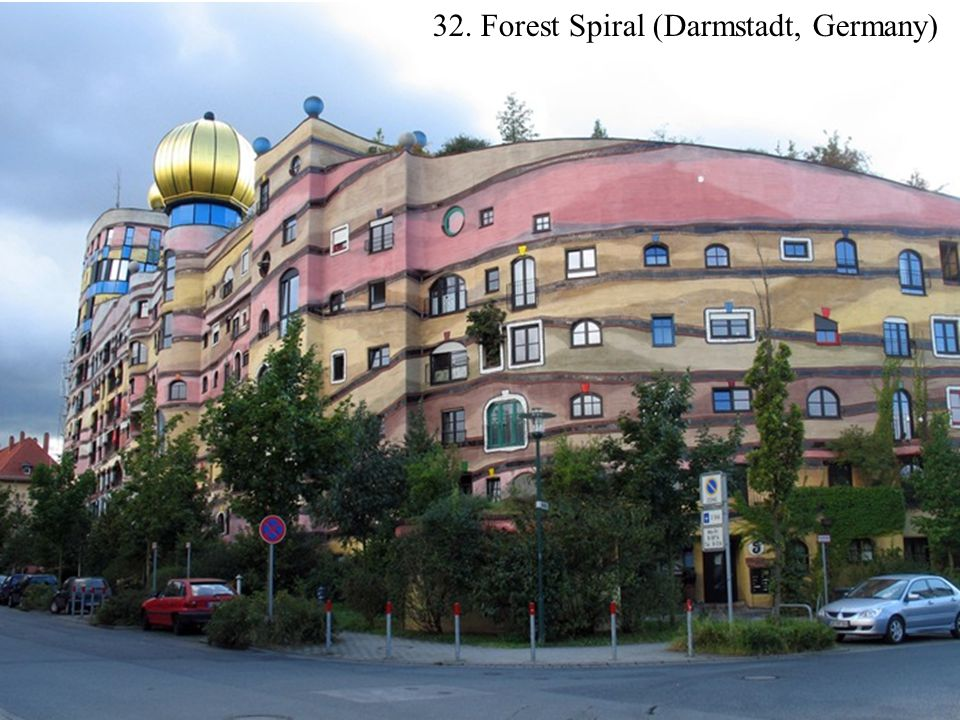 32. Forest Spiral (Darmstadt, Germany)
