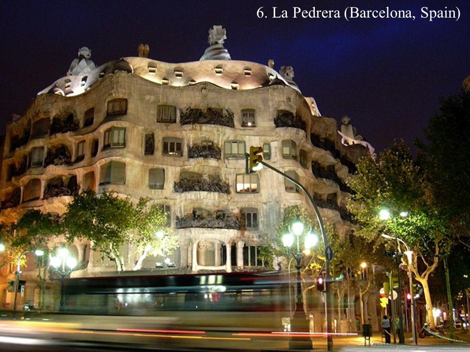 6. La Pedrera (Barcelona, Spain)