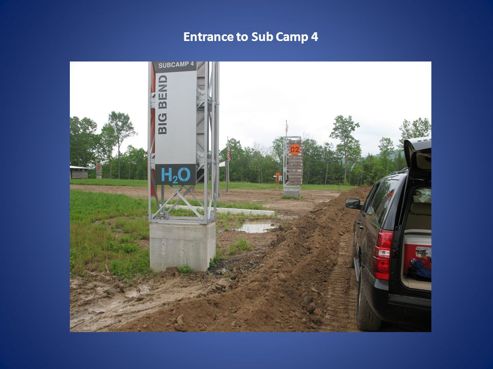 Entrance to Sub Camp 4