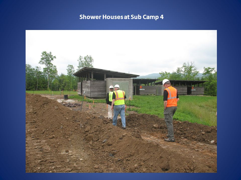 Shower Houses at Sub Camp 4