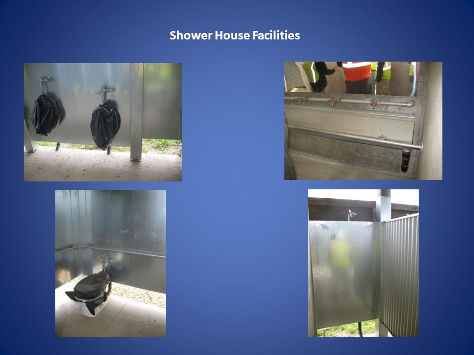 Shower House Facilities