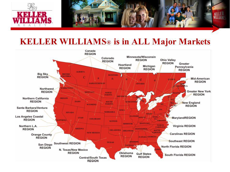 Notice, Keller-Williams, is number two in the number of days before a home sells. Next year we plan to be number one!