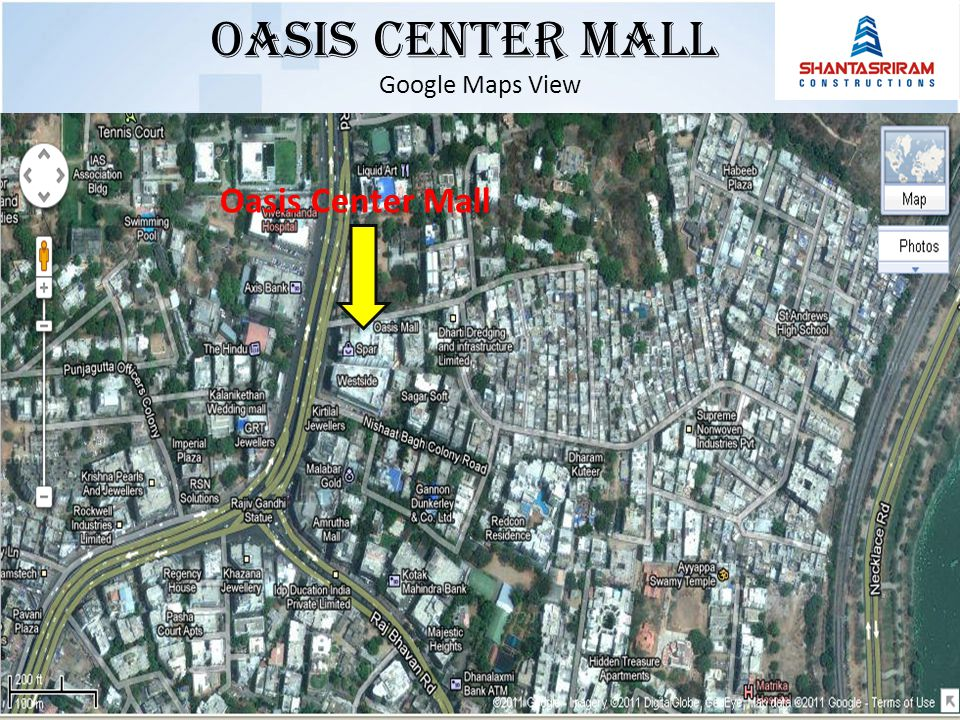 Google Maps View Oasis Center Mall Oasis Center MALL