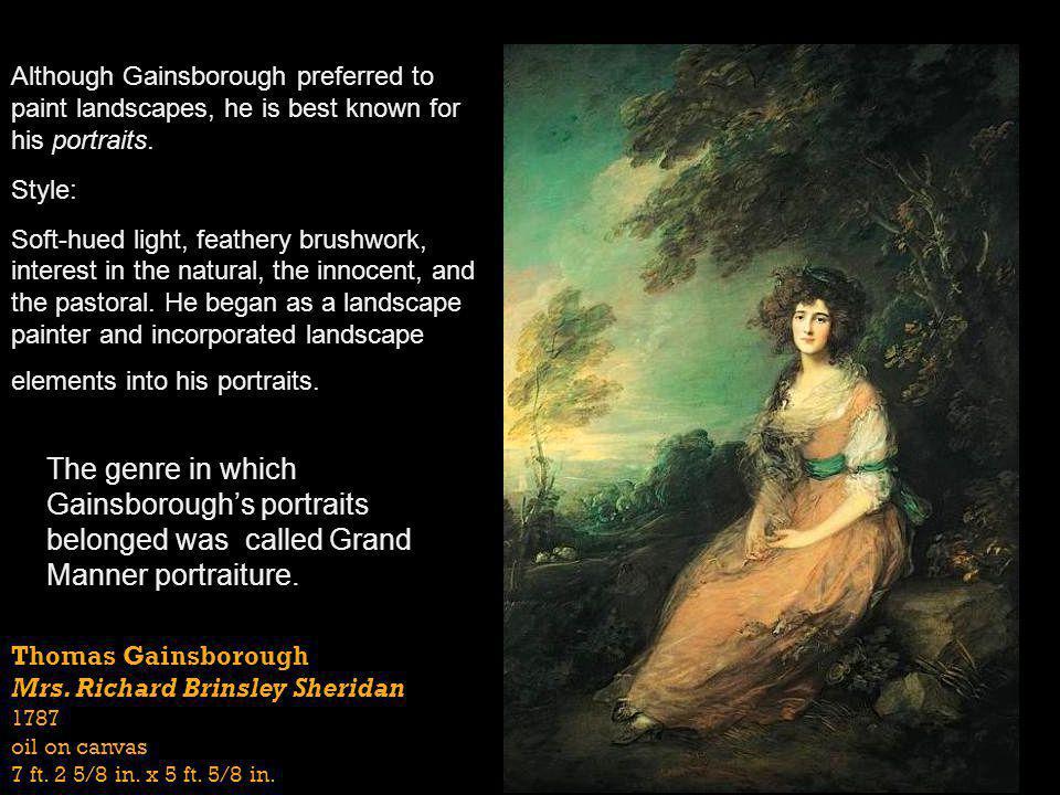 Sir Joshua Reynolds Lady Sarah Bunbury Sacrificing to the Graces 1765 oil on canvas 7 ft.