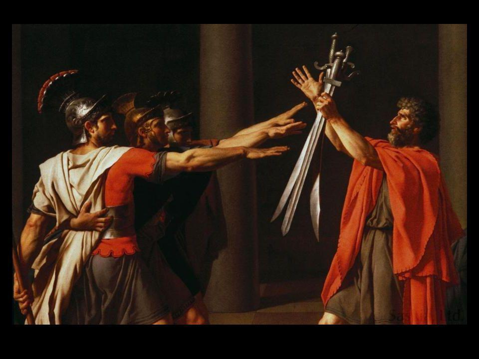 Jacques-Louis David Death of Socrates 1787 oil on canvas 51 x 77 1/4 in.