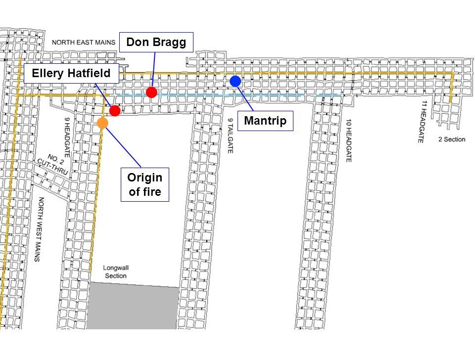 Mantrip Don Bragg Ellery Hatfield Origin of fire