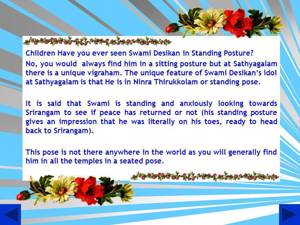 Presiding Deities of Sathyagalam Lord Kote Varadharajar & Goddess Perumdevi Thayar