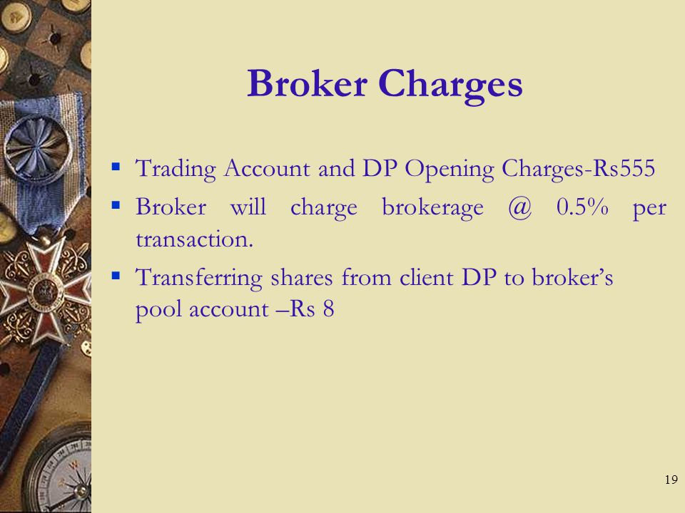 18 Various Charges Fees to PNVF Option 2 PNVF will receive as share profit 30% of the profits in excess of 10% per annum.