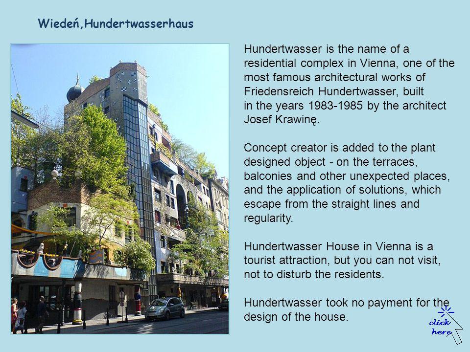 Friedensreich Hundertwasser, (b. 15.XII.1928 born in Vienna, d.