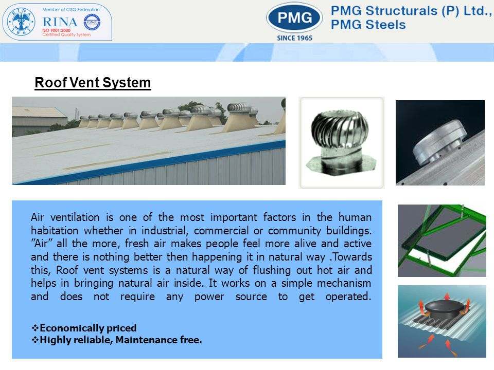 Air ventilation is one of the most important factors in the human habitation whether in industrial, commercial or community buildings. Air all the mor