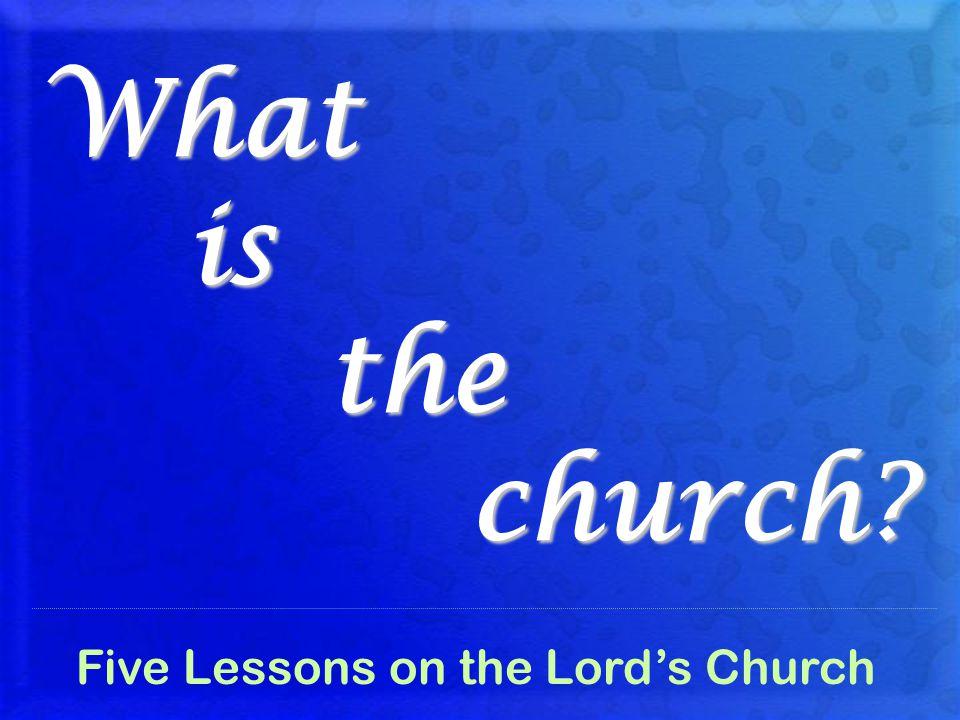 What is the church.Origin of the Church Eph. 3:11-12 God, eternal purpose Mi.