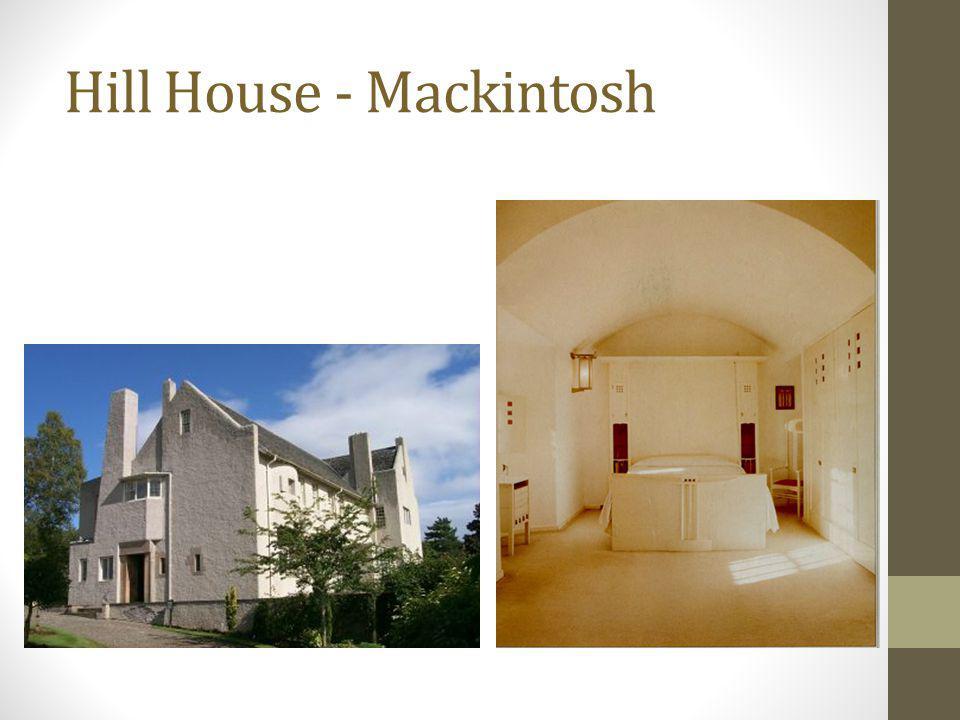 Hill House - Mackintosh