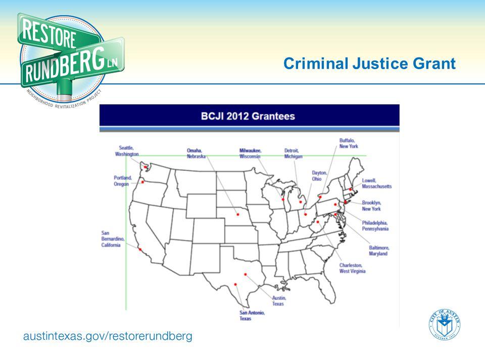 Criminal Justice Grant