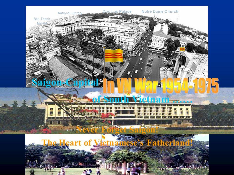 Saigon in Vietnam War 1954-1975