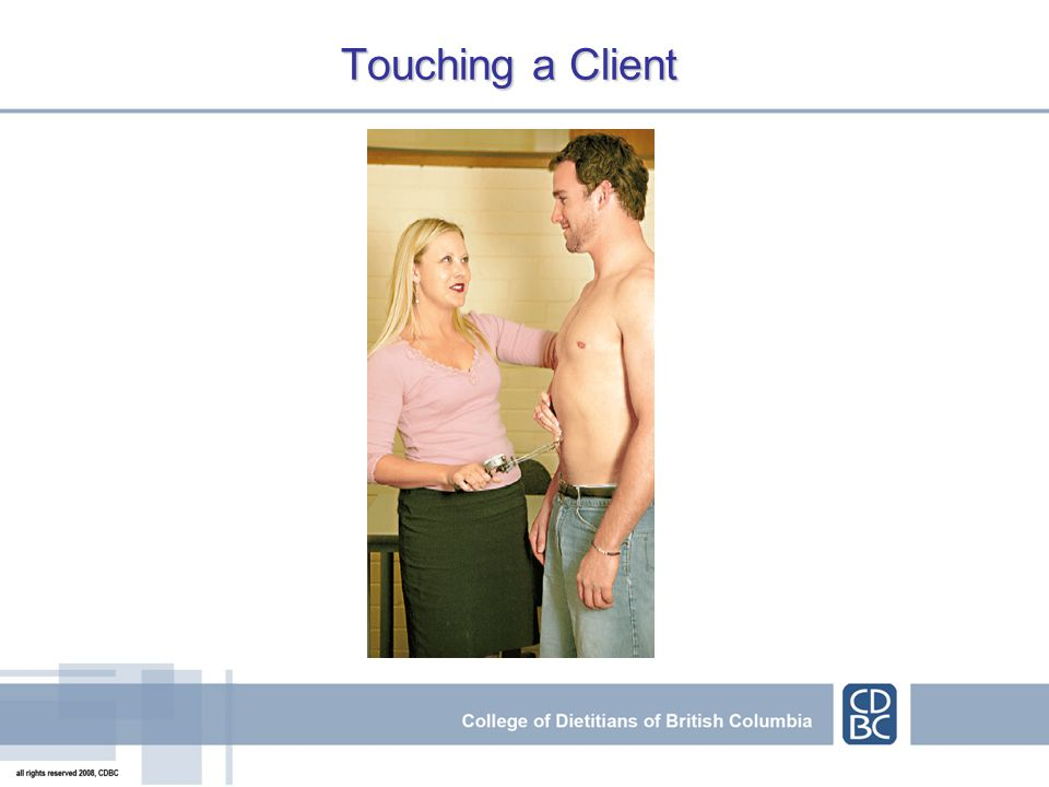 Touching a Client