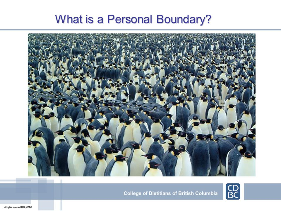 What is a Personal Boundary