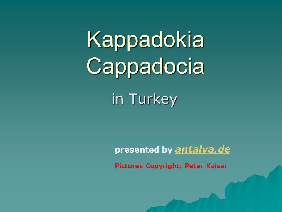 Kappadokia - Cappadocia Many ancient churches www.fotobox24.com