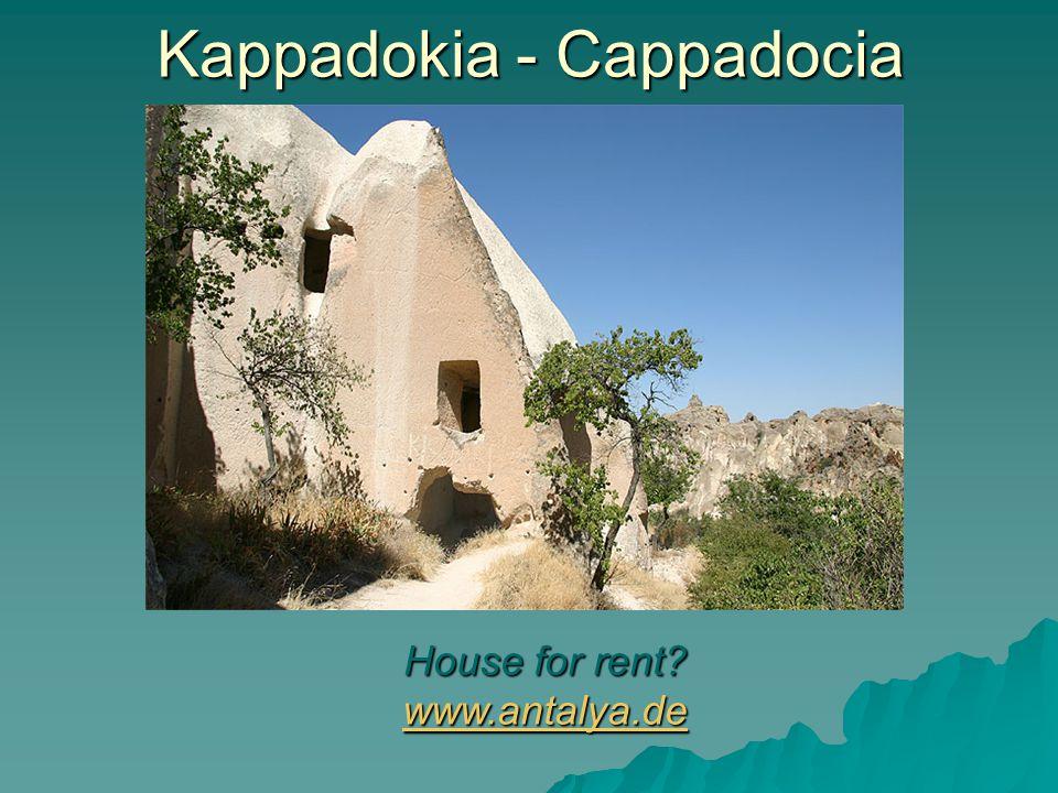 Kappadokia - Cappadocia House for rent? www.antalya.de