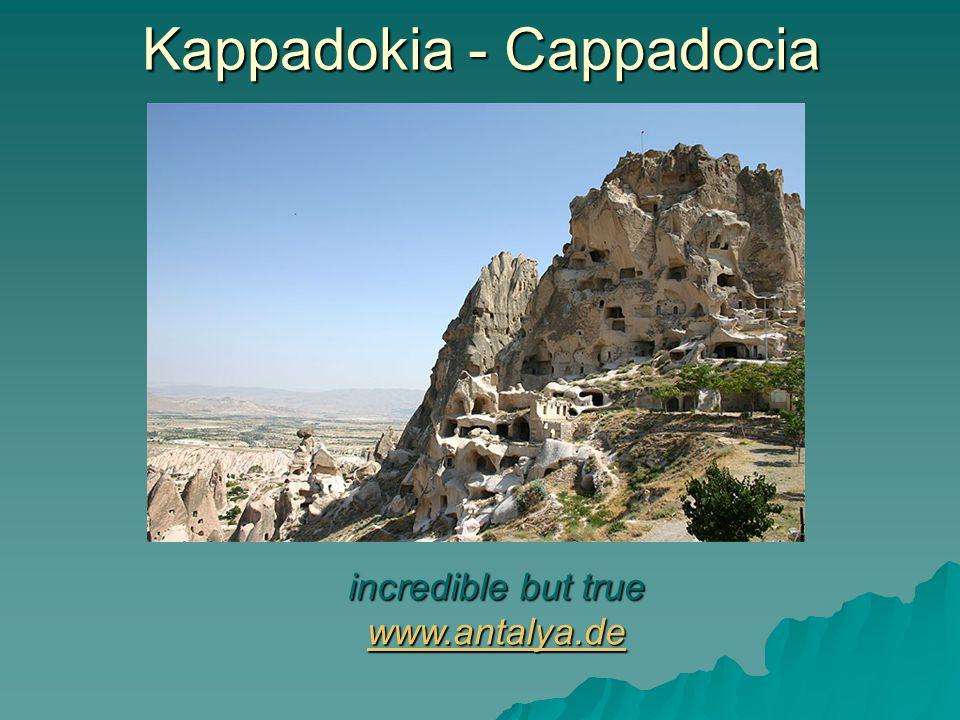 Kappadokia - Cappadocia With turkish tea everything goes more easily www.fotobox24.com www.fotobox24.com